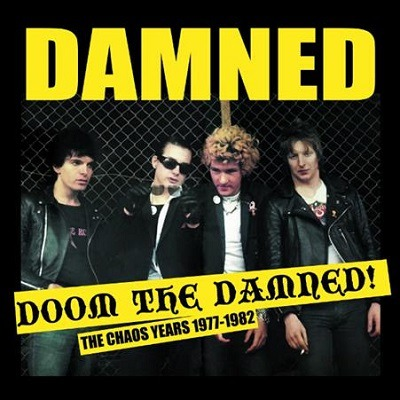 Cover DAMNED, doom the damned - the chaos years 1977-82