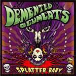 DEMENTED SCUMCATS, splatter baby cover
