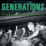 V/A, generations - a hardcore compilation cover