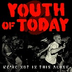 Cover YOUTH OF TODAY, we´re not in this alone