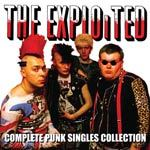 Cover EXPLOITED, punk singles