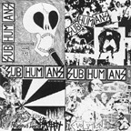 Cover SUBHUMANS, ep lp