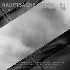 MUTTER, hauptsache musik cover