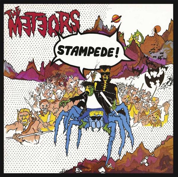 METEORS, stampede cover