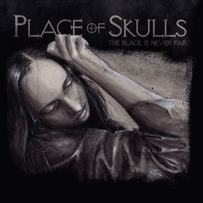 Cover PLACE OF SKULLS, black is never far