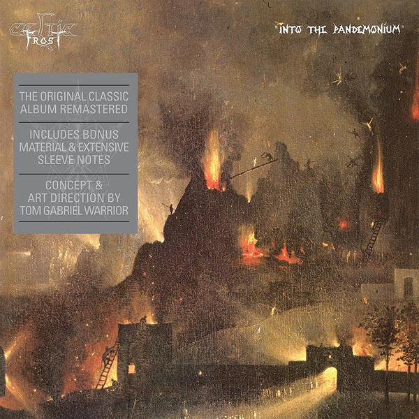 Cover CELTIC FROST, into the pandemonium
