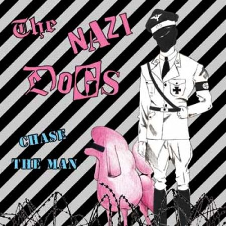 Cover NAZI DOGS, chase the man