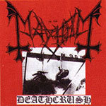 Cover MAYHEM, deathcrush