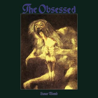 THE OBSESSED, lunar womb cover