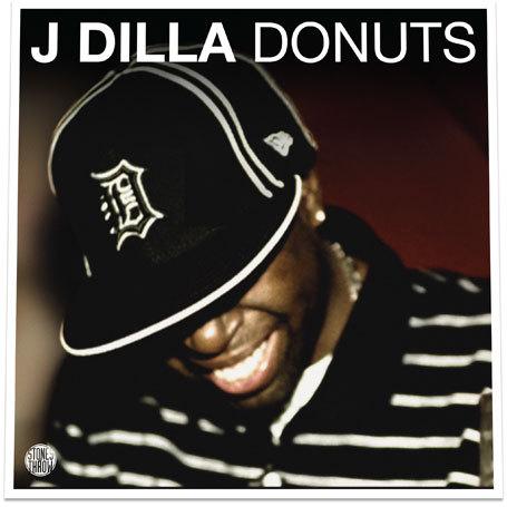 J DILLA, donuts cover