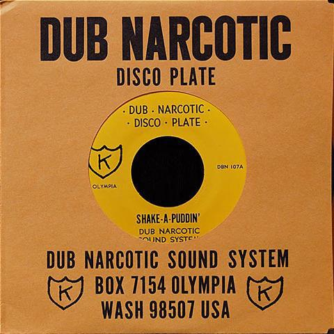Cover DUB NARCOTIC SOUND SYSTEM, shake a puddin´
