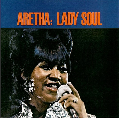 Cover ARETHA FRANKLIN, lady soul