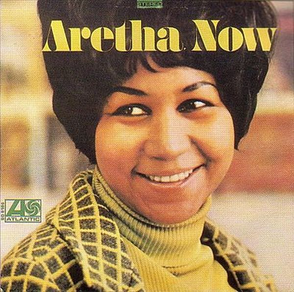 Cover ARETHA FRANKLIN, aretha now