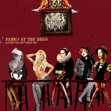 PANIC! AT THE DISCO, a fever you can´t sweat out cover