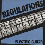Cover REGULATIONS, electric guitar