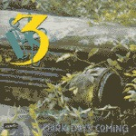 Cover THREE, dark days coming (re-issue)