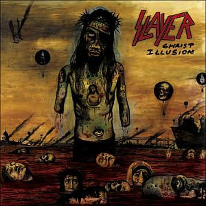SLAYER, christ illusion cover