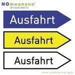 Cover NOMEANSNO, all roads lead to ausfahrt