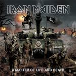 IRON MAIDEN, a matter of life and death cover
