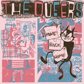 Cover QUEERS, move back home