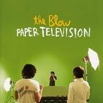 Cover THE BLOW, paper television