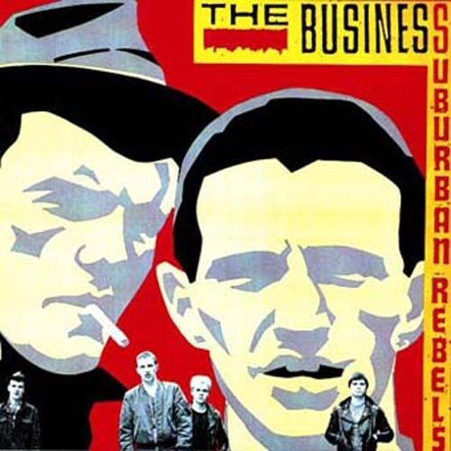 BUSINESS, suburban rebels cover