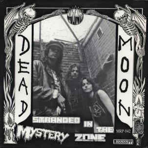 Cover DEAD MOON, stranded in the mystery zone