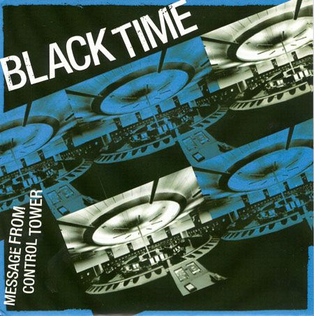 BLACK TIME, message from control tower cover