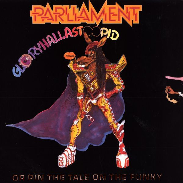Cover PARLIAMENT, gloryhallastupid