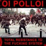 Cover OI POLLOI, total resistance to the fucking system