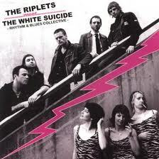 RIPLETS / WHITE SUICIDE, split cover