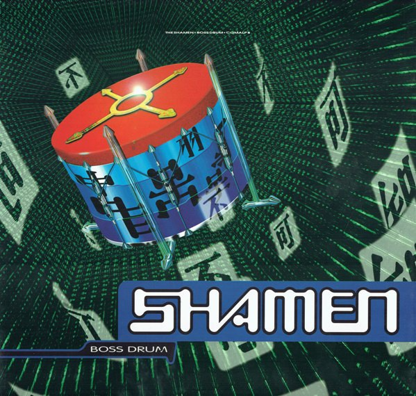 Cover SHAMEN, boss drum