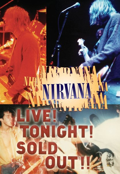 NIRVANA, live! tonight! soldout! cover