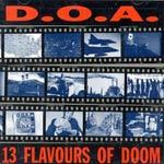 Cover D.O.A., 13 flavours of doom