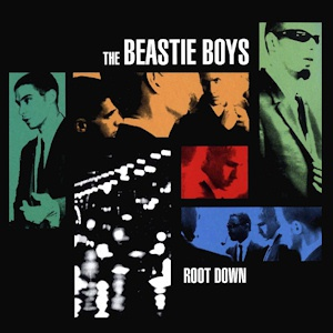 BEASTIE BOYS, root down cover