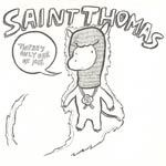 SAINT THOMAS, there´s only one of me cover