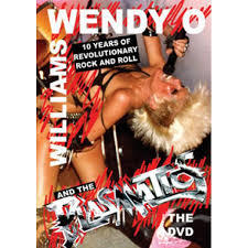 WENDY O`WILLIAMS & PLASMATICS, ten years of r´n´r cover