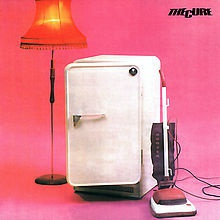 Cover CURE, three imaginary boys