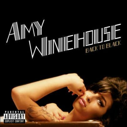 Cover AMY WINEHOUSE, back to black