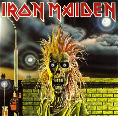 IRON MAIDEN, s/t cover