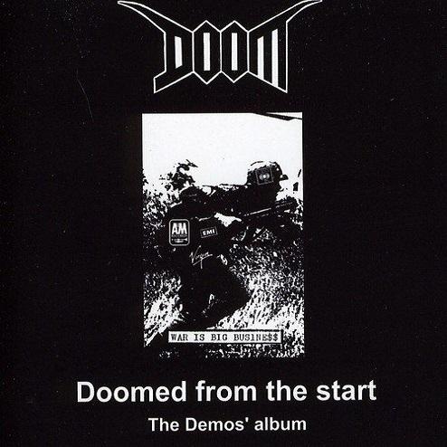 DOOM, doomed from the start - the demo´s album cover