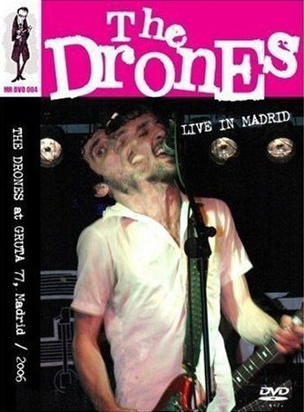 DRONES, live in madrid cover