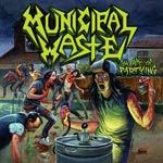 MUNICIPAL WASTE, art of partying cover