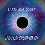 Cover EARTHLING SOCIETY, tears of andromeda - black sails againgst the sky