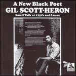 GIL SCOTT-HERON, small talk at 125th and lenox cover