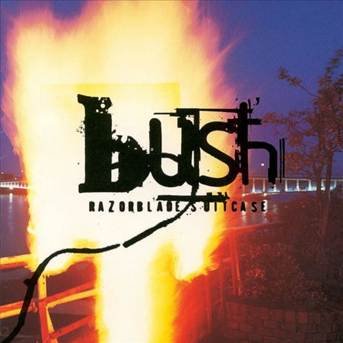 Cover BUSH, razorblade suitcase