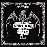 Cover EXTINCTION OF MANKIND, northern scum