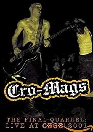 CRO-MAGS, final quarrel cover