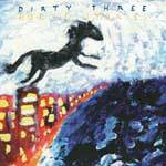 DIRTY THREE, horse stories cover