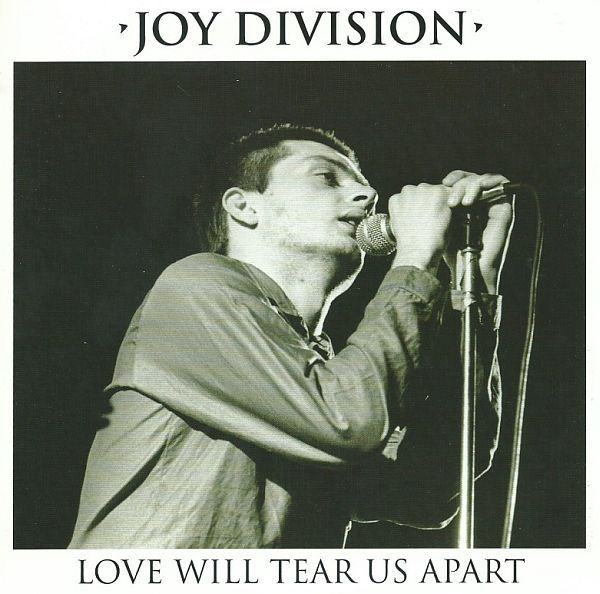 Cover JOY DIVISION, love will tear us apart